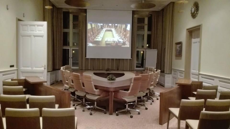 Projectie Raadsvergadering